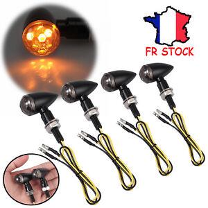 4PCS-Mini-Chrome-Ambre-Clignotant-Indicateur-Bullet-LED-Pour-Harley-Moto-M8