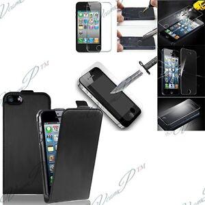h lle cover pu echt leder klappe f r apple iphone 5 5s 5se. Black Bedroom Furniture Sets. Home Design Ideas
