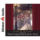 David Copperfield & Oliver Twist by Charles Dickens (CD-Audio, 2010)