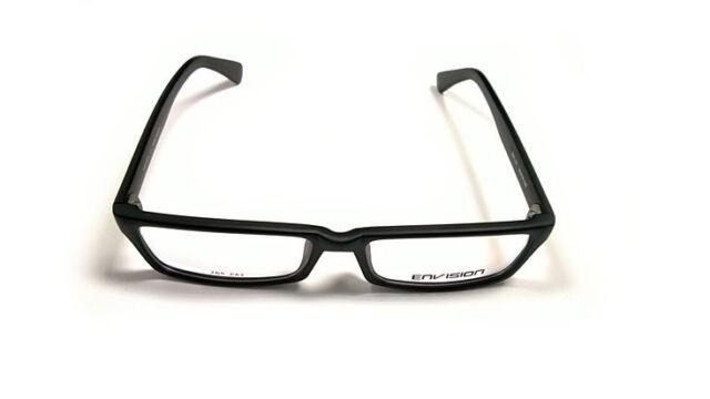 Envision 265-c62 Matte Dark Gray Fullrim Clear Lens Eyewear Glasses ...