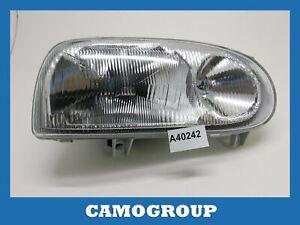 Front Headlight Right Front Right Headlight Depo For VW Golf 3 1993