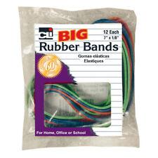 Charles Leonard Big Rubber Bands 7 X 18 Pack Of 12