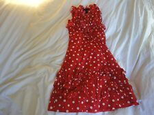 MARC BY MARC JACOBS SIZE 2 ICONIC RED POLKA DOT DRESS!