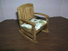 Reutter Porzellan Garten Schaukelstuhl Rocking Chair Puppenstube Dollhouse 1:12