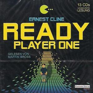 Ernest-Cline-READY-PLAYER-ONE-13-CD-NEU-Hoerbuch-CDs-TOP-RARITAT