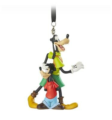 DISNEY PARKS GOOFY OUTFIT CHRISTMAS ORNAMENT COSTUME HANGER NEW WITH TAGS