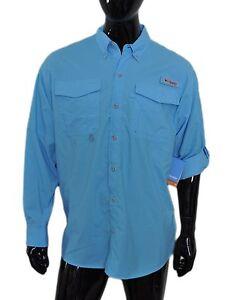 a96eb91e6fb Columbia Men's PFG Distant Water™ Omni-Shade Long Sleeve Shirt ...