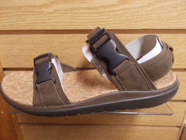 76d9237c5a3b Teva Terra-float Universal Lux Sz US 13 M Brown Leather Sandals Mens ...