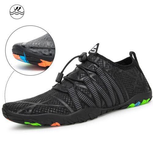 Mens Outdoor Hiking Water Barefoot Sock Beach Sport Swim Quick-Dry Elastic Shoes