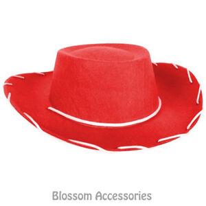 A828 Kids Child Red Cowboy Hat Toy Story Jessie Western Costume ... 0df65ada7e5
