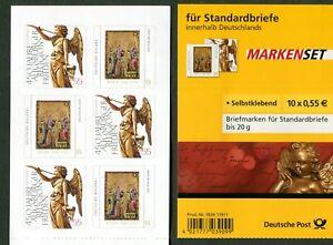 5-x-Bund-2700-2701-Markenheftchen-MH-76-SK-postfrisch-Winter-2008-BRD-MNH