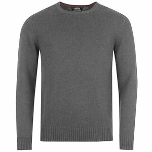 Pull-KANGOL-gris-anthracite-modele-034-Class-034-Du-S-au-XXL-Taille-grand