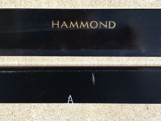 original Top Bottom HAMMOND A 100 B B3 C C2 Trim Face Rails