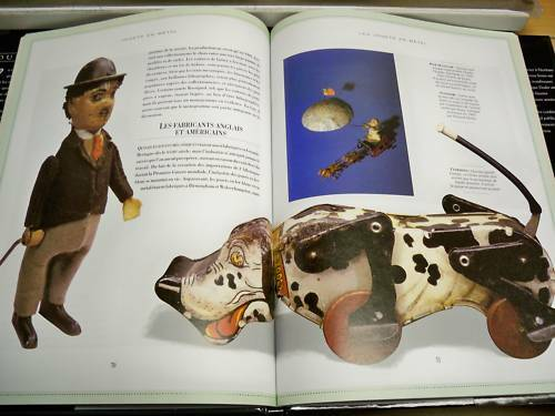 tin collectible steel illustrated ANTIQUE TOYS french book JOUETS EN METAL