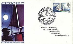 24-JULY-1967-SIR-FRANCIS-CHICHESTER-GPO-FIRST-DAY-COVER-GREENWICH-SHS