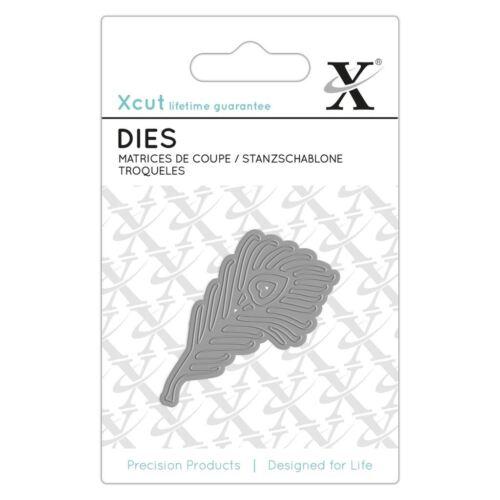 1pcs Xcut - Plume de Paon mini papier carte album Métal meurt Docrafts