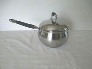 MSe-2-2-QUART-STAINLESS-STEEL-SAUCEPAN-w-DOMED-LID-TRI-PLY-BOTTOM