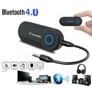 Adattatore Audio Wireless Bluetooth Trasmettitore 3.5mm Per TV PC Laptop N8S1