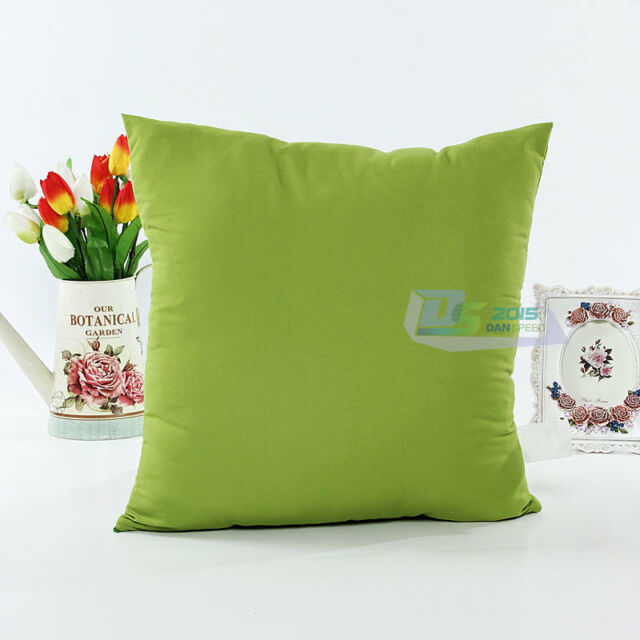 """New Multi-color Throw Pillow Case Cushion Cover Bed Home Decoration 18"""" X 18"""""""