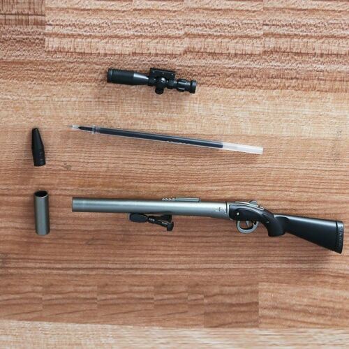 0.5mm Creative Plastic Rifle Gun Shape Gel Pen Weapons Kids Gift Toys stationary