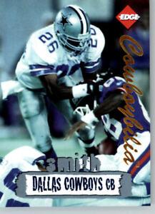 1996 Collectors Edge Cowboybilia SN 0335/ 10000 #Q-11 Kevin Smith- Cowboys