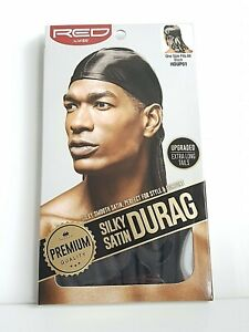 Red-by-Kiss-Satin-Soyeux-Durag-Taille-Unique