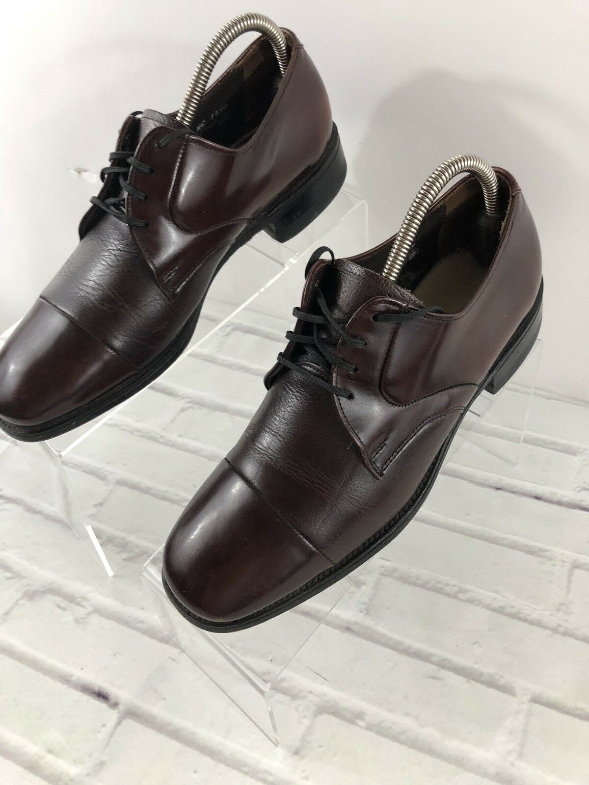 Roblee Men's Brown Leather Oxford Dress shoes Size 9 D