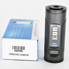 Nd9b Digital Sound Level Calibrator Noise Decibel Calibration Tool 94 Db 114 Db
