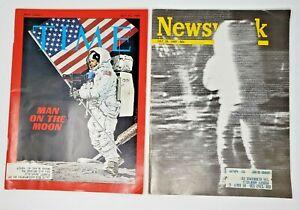 Vintage-Times-and-Newsweek-Man-on-the-Moon-Magazines-NASA-Astronauts