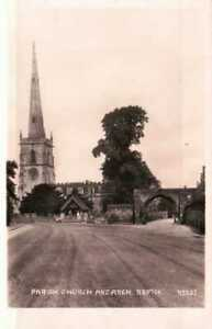 [54633] Repton Derbyshire RP early postcard