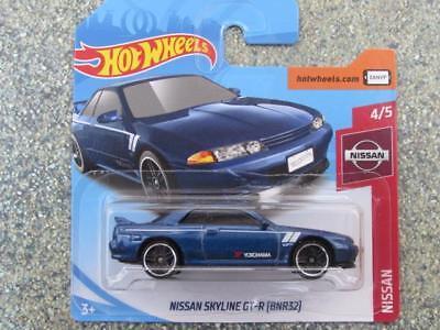 blue New Casting @A Hot Wheels 2019 #001//250 NISSAN SKYLINE GT-R BNR32