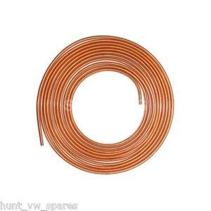 COPPER-BRAKE-FUEL-PIPE-HOSE-LINE-25FT-FEET-1-4-1-ROLL