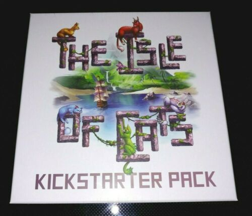 English edition The Isle of Cats Expansion New! Kickstarter Pack
