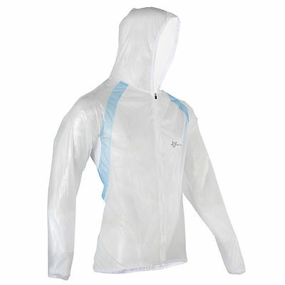 Straightforward Rockbros Bicycle Cycling Jacket Waterproof Windproof Wind Rain Coat White Pleasant To The Palate Men's Clothing