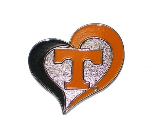 """Tennessee Volunteers Sports Pins About 1/"""" Tall NCAA Licensed Choose your designs"""