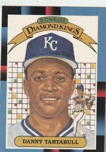 FREE-SHIPPING-MINT-1988-Donruss-5-Diamond-Kings-Danny-Tartabull-Royals