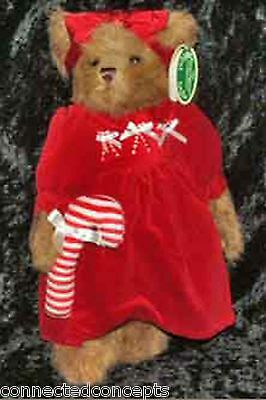 Christmas Bearington Bears - Candi Cane (1576) 2006 TOBY Winner RETIRED 2007 NEW