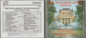 Details about CD - THE BULGARIAN OPERA VOICES VOL 2 - ARIAS FROM OPERAS  BORIS CHRISTOFF etc