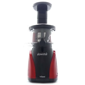 Details about Tribest Slowstar Vertical Juicer in Red