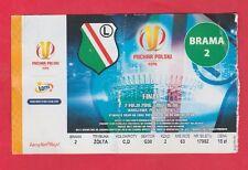 Orig.Ticket  Polen Pokal   2015/16  FINALE  LEGIA WARSCHAU - LECH POZNAN !! TOP