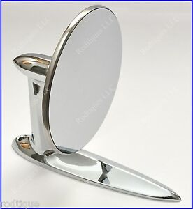 Beau Image Is Loading Lincoln Universal Chrome Round Door Mount Mirror Rearview