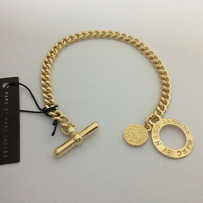 HOT SALE MARC BY MARC JACOBS HOLLOW LETTERS LOCK BRACELET #B336X