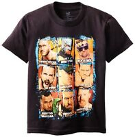 Wwe Superstars Cena Sheamus Cm Punk Orton Miz T-shirt Boys Sz. 4 Or 5/6 $18