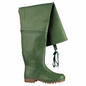 Stivali da lavoro ginocchio n 39 impermeabile antiscivolo in gomma caccia pesca