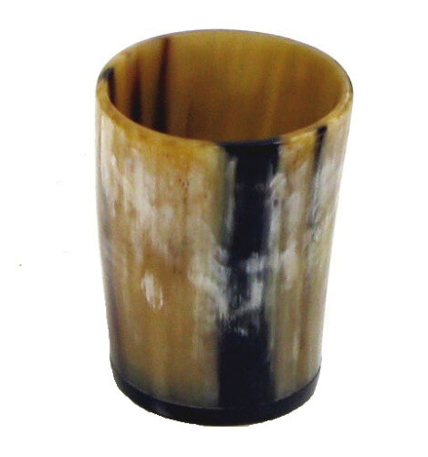 Viking Bar Mug Real Horn Mug Beer Tankard Viking Horn With Shot Glass