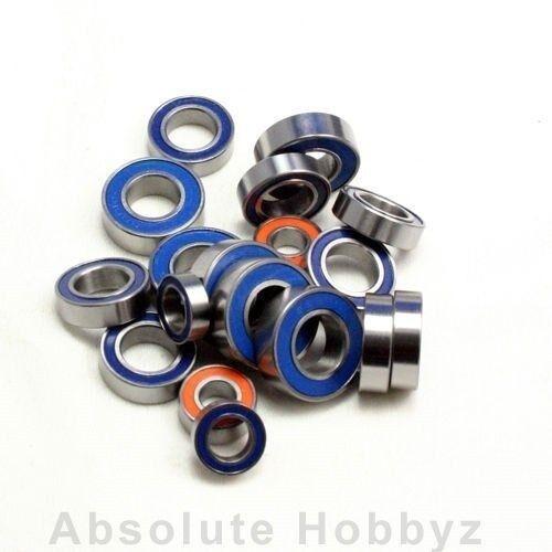 AHZ R/C Complete Ceramic Bearing Set  Rubber Shield  Hot Bodies D8