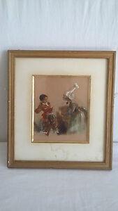 Edouard-Charles-DE-BEAUMONT-1812-1888-Aquarelle-Encre-sur-papier