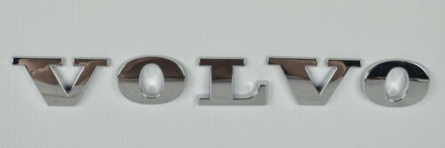 Volvo Argent emblème écusson emblèmes 30764687 190x25mm NEUF kg
