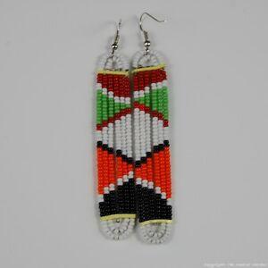 Maasai-Market-Handmade-African-Jewelry-Masai-Multi-Color-Bead-Earrings-231-95