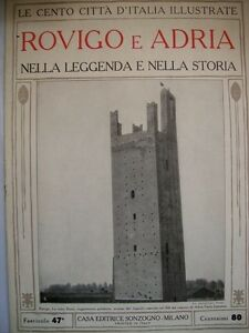 LE-CENTO-CITTA-039-D-039-ITALIA-ILLUSTRATE-ROVIGO-E-ADRIA-n10-1-12